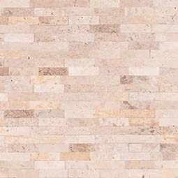 Roman Beige Splitface Peel and Stick Backsplash
