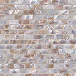 Santorini Brick Pattern 3mm Glass Backsplash Tile