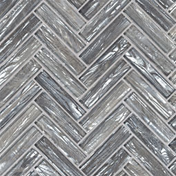 Shimmering Silver Herringbone 8mm Product Page