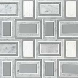 Soho Stax 8mm geometric tile pattern Product Page