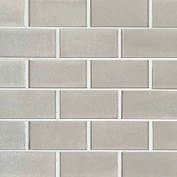 Starlight Subway 2x4x8mm Glass Backsplash Tile