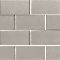 Starlight Subway 3x6x8mm Mesh in 12x12 Glass Backsplash Tile
