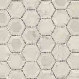Telaio 2 Hexagon Honed geometric tile pattern