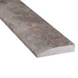 Tundra Gray 4x36x0.75 Single Hollywood Threshold Polished - Marble Threshold