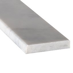 Turkish Carrara 5x36x0.75 Polished Double Beveled