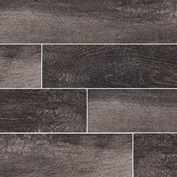UPSCAPE NERO 3X18 wood look wall tile