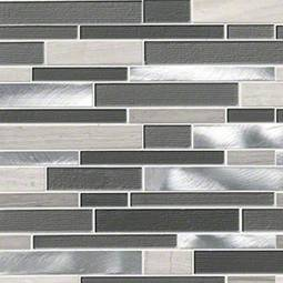 Urban Loft Interlocking Pattern 4mm Metal Tile