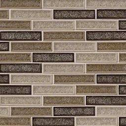 Venetian Cafe 1x4x8mm Glass Backsplash Tile