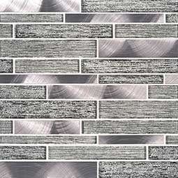 Volcanic Luxe Interlocking 8MM Decorative Mosaic Tile