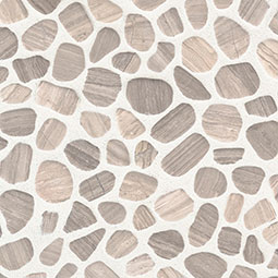 White Oak Pebbles Tumbled 10mm