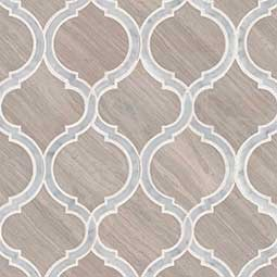 White Quarry Savona Honed geometric tile pattern Product Page