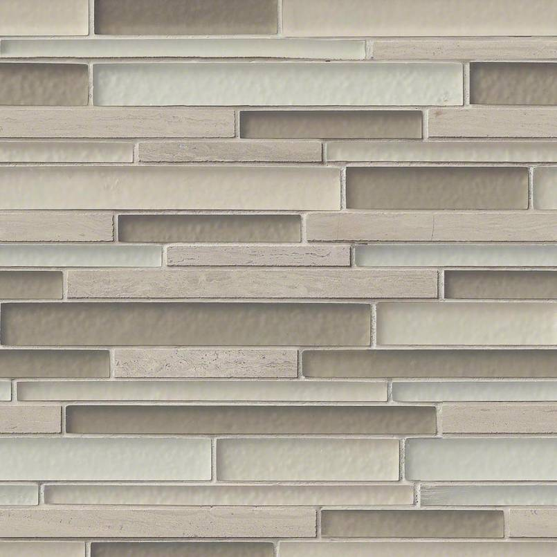Truffle Stone Interlocking Pattern 8mm Decorative Mosaic Tile