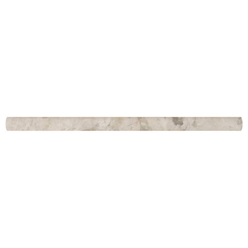 Tundra Gray 3/4x3/4x12 Pencil Molding Polished
