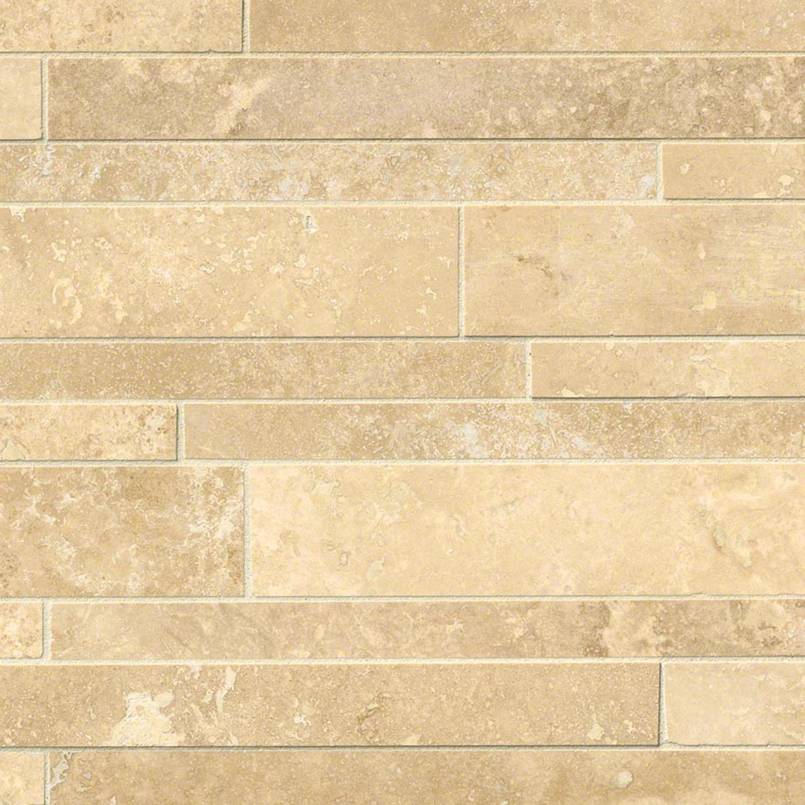 Tuscany Ivory Interlocking Pattern 12x18 Honed