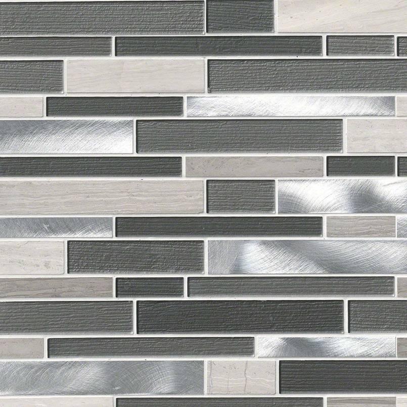 Urban Loft Interlocking Pattern 4mm Decorative Mosaic Tile