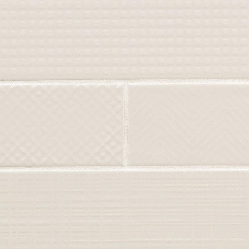 Crema Mix Subway Tile Ceramic Mosaic
