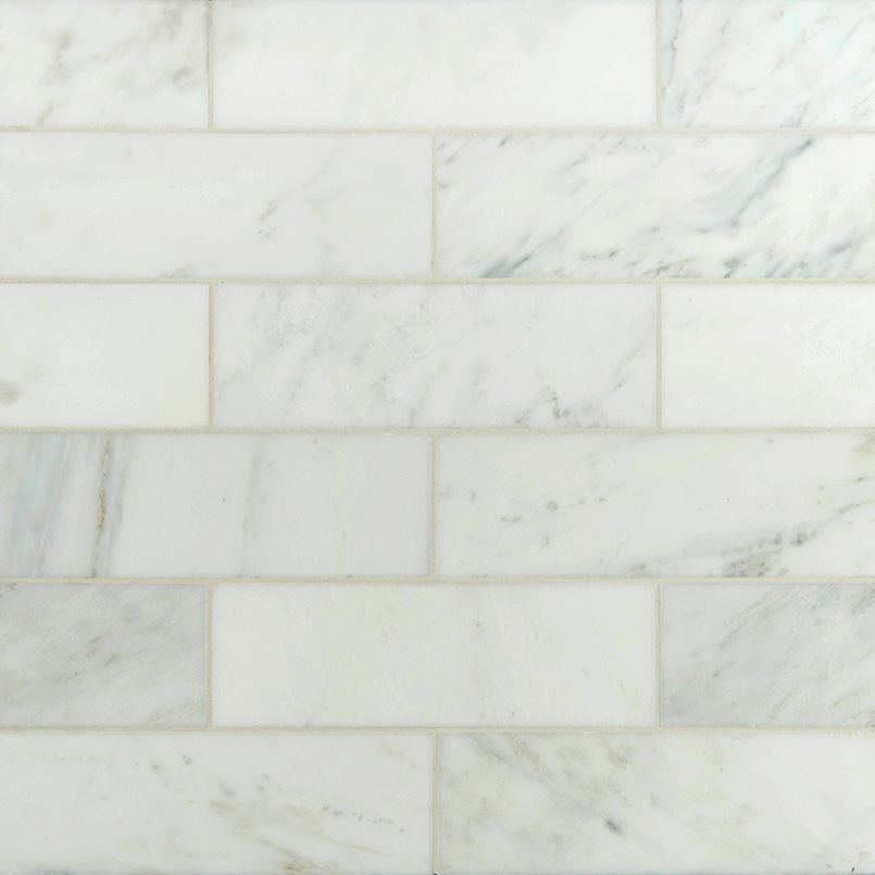 Arabescato Carrara Subway Tile 4x12 White Subway Tile