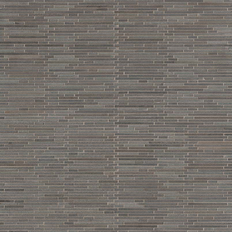 Basalt Blue Bamboo Pattern