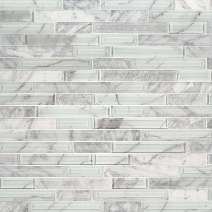 Blocki Blanco Interlocking Pattern 8mm