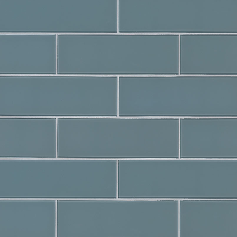 Harbor Gray 4x12x8 Subway Tile Mosaic Tile Backsplash Tile