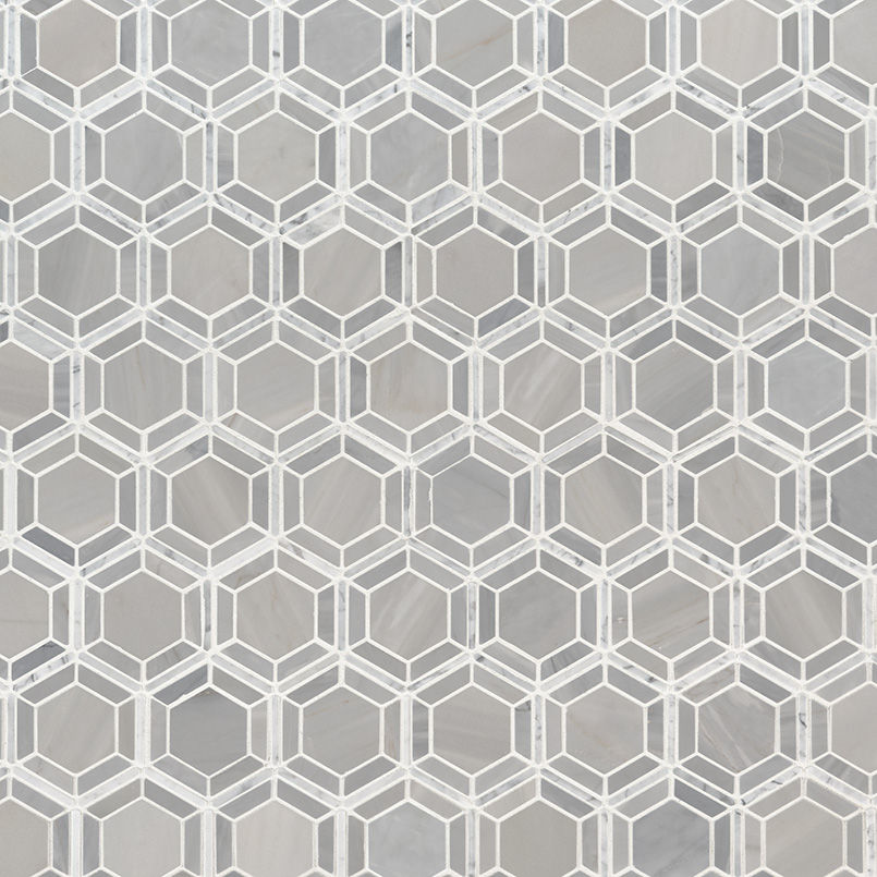 Hexagono Grigio Polished