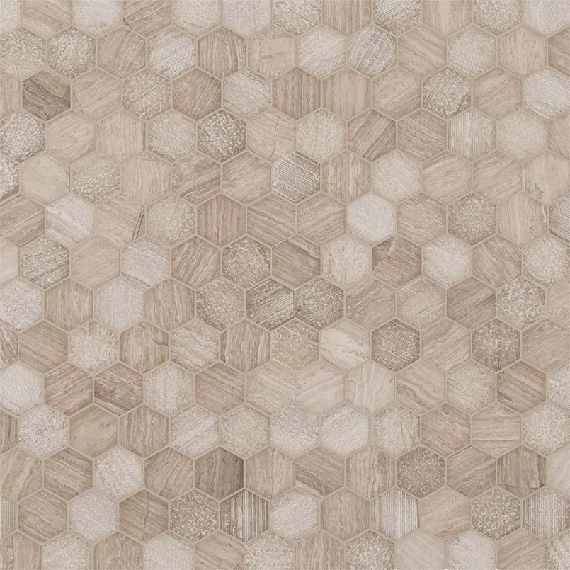 """Honey Comb 2"""" Hexagon Multi Finish"""
