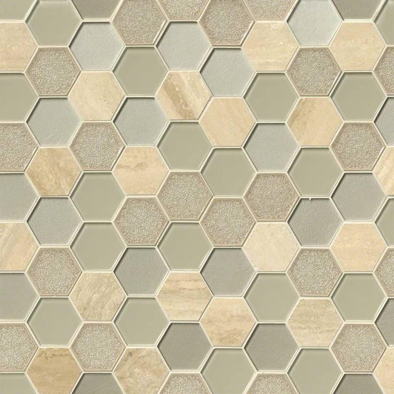 """Monterra Blend 3"""" Hexagon 8mm"""