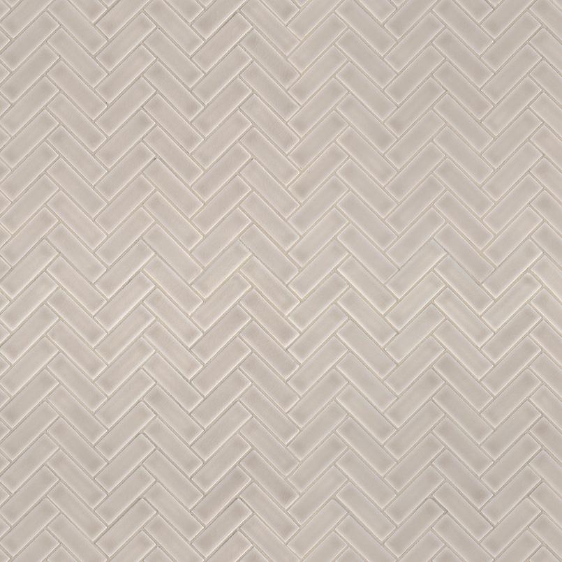 Portico Pearl Herringbone Pattern 8mm