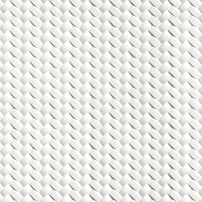 Whisper White Arched Herringbone 8mm