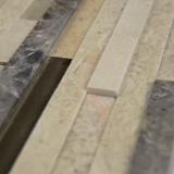 Ashlar Rock Interlocking 3D Pattern in 8x18 Mesh