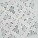 Bianco Dolomite Geometrica Polished