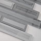Blocki Grigio Interlocking Pattern 8mm