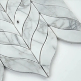 Calacatta Cressa Leaf Pattern Honed