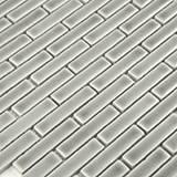Dove Gray Brick Pattern 8mm