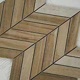 Havenwood Saddle Chevron Mosaic 12x15
