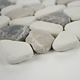 Mix Marble Pebbles Tumbled 10mm