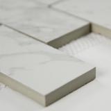 Pietra Statuario Subway Tile 2x4