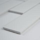 Retro Brick Bianco 6mm Matte