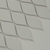 White Tear Drop Glossy Mosaic