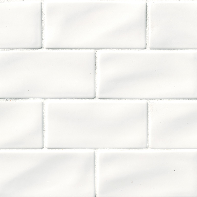 Whisper White Subway Tile 3x6 Subway Tile Collection