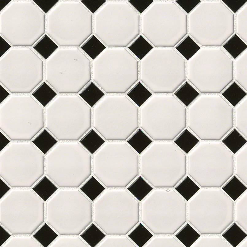 Black Porcelain Tile Domino