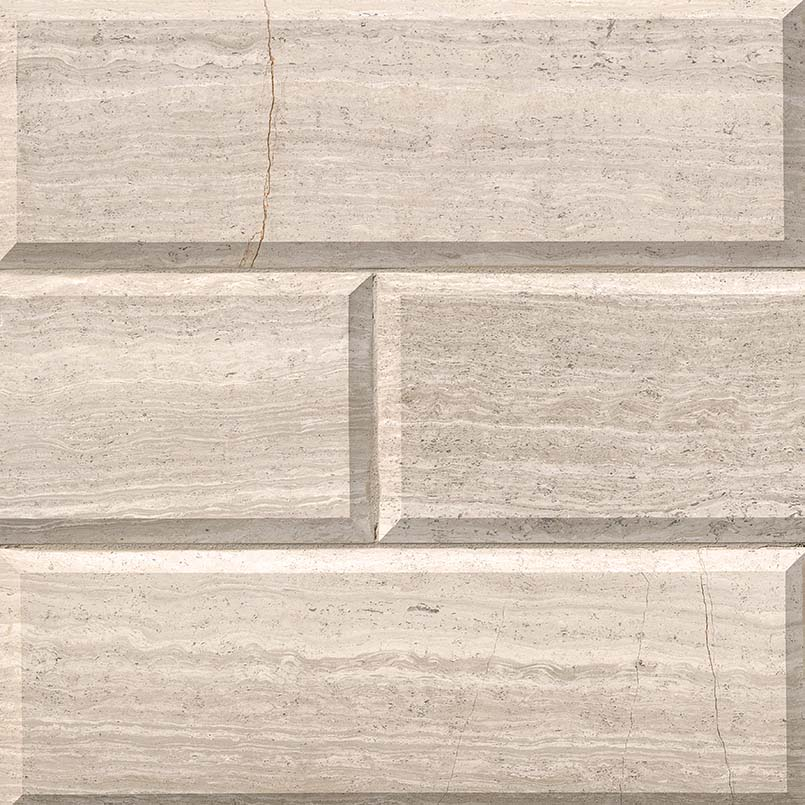 White Oak Subway Tile Honed Beveled 4x12