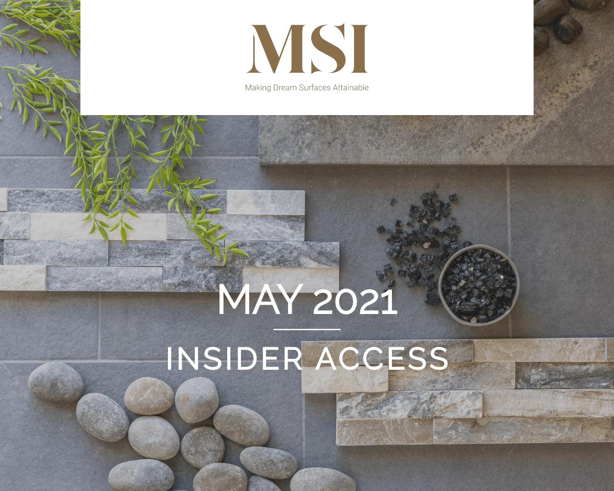 May 2021 Insider Access