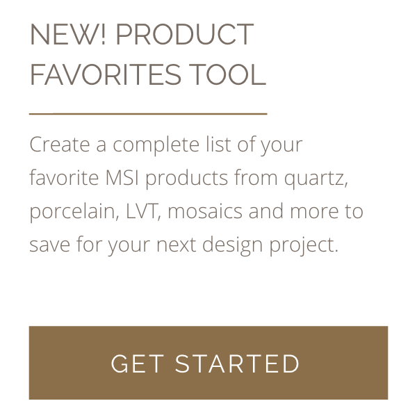 New Product Favorites Tool