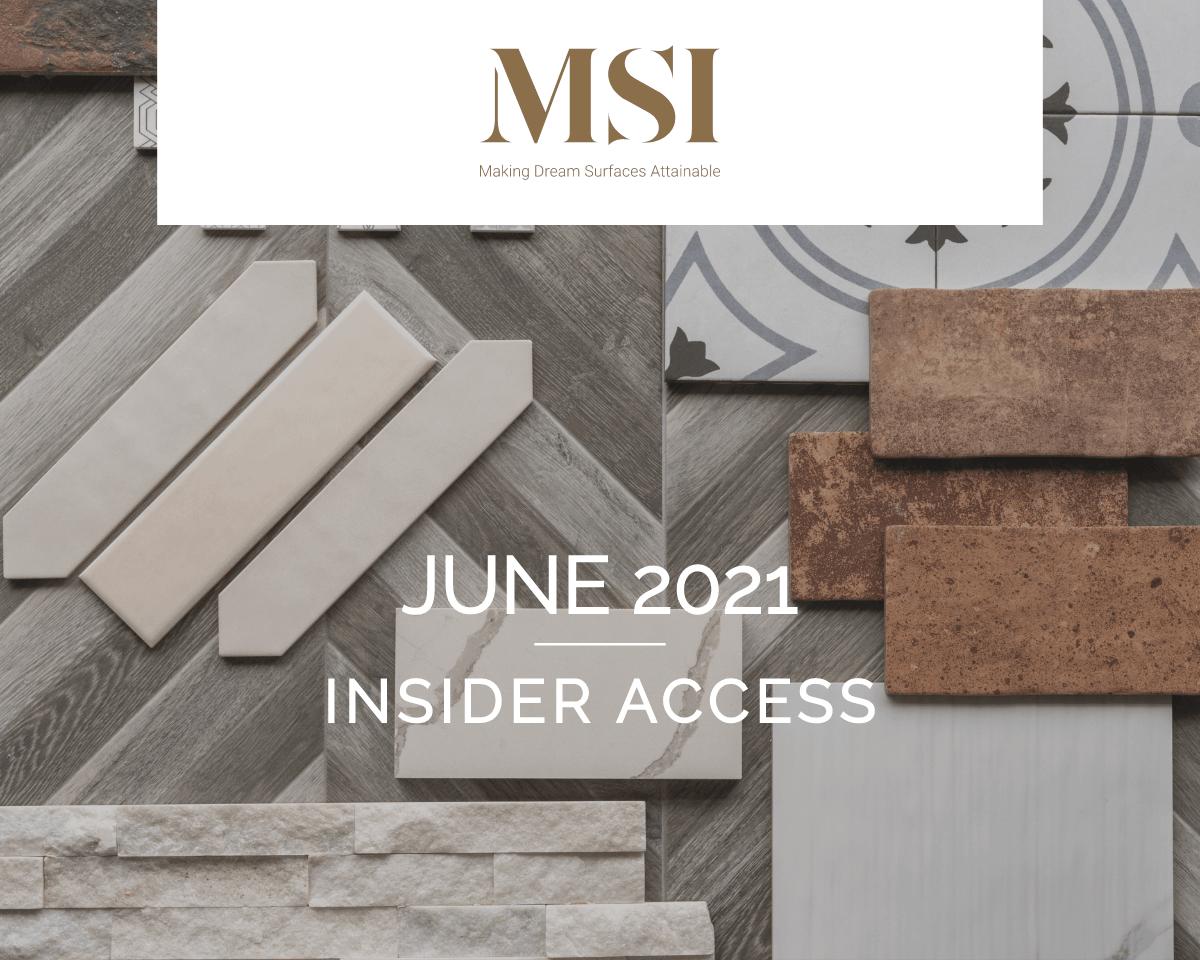 June 2021 Insider Access