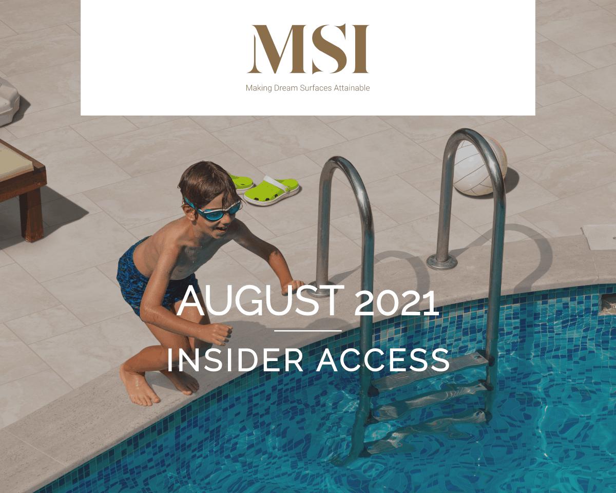 August 2021 Insider Access