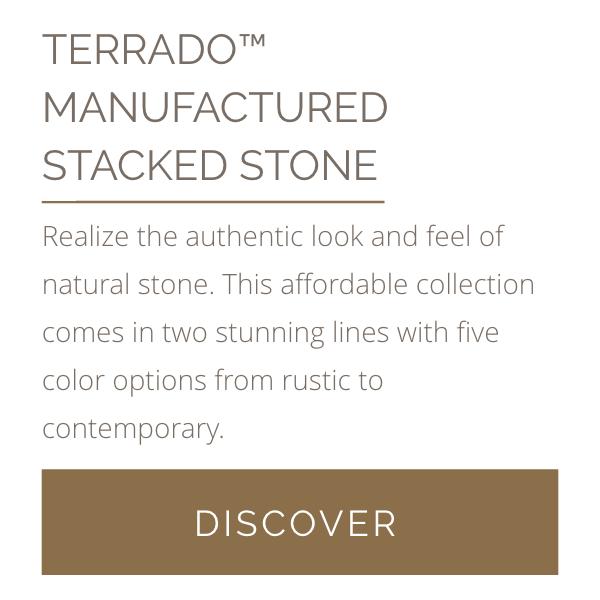 Terrado Manufactured Stacked Stone