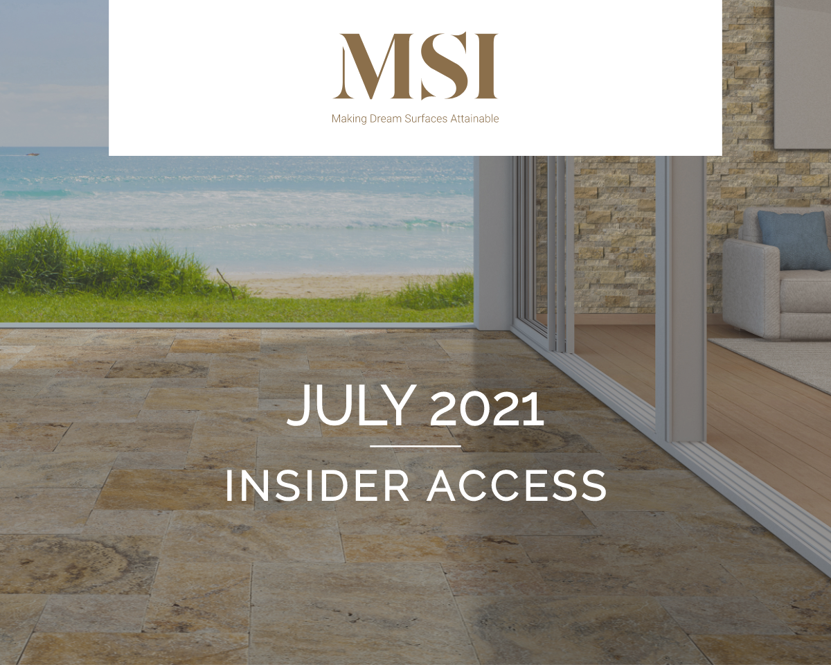 July 2021 Insider Access
