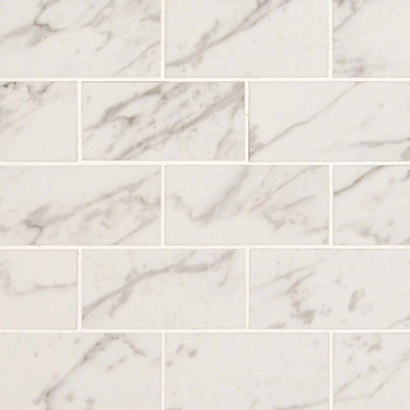 Carrara 2x4 Porcelain Tile Pietra Collection Porcelain