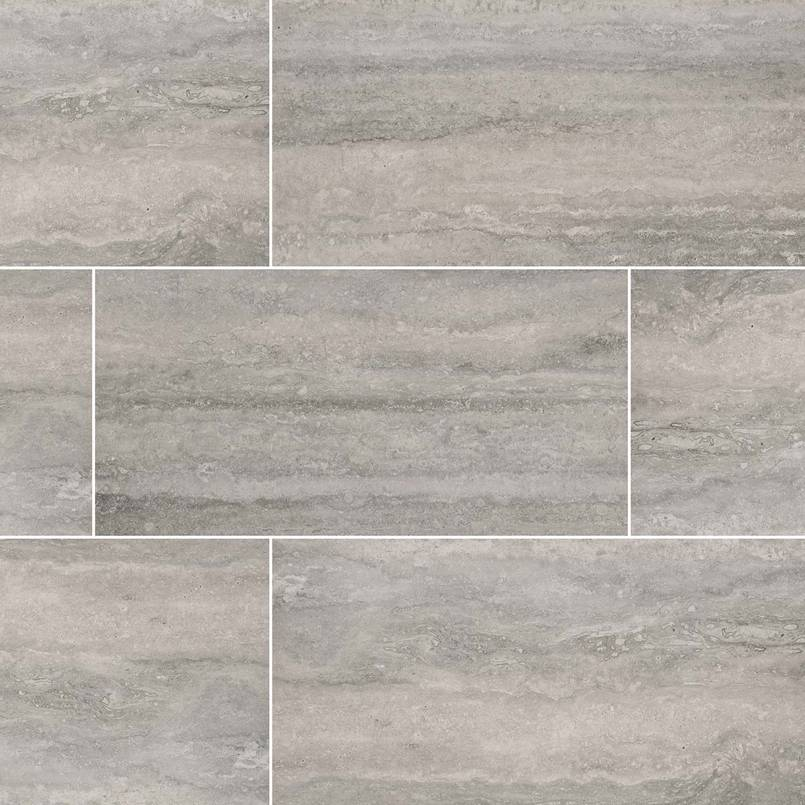 Gray Porcelain Tile Veneto Collection Msi